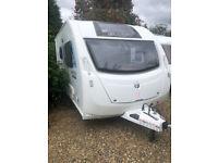 2013 Sprite Alpine SR Exclusive - 2 Berth Touring Caravan With Motor Mover & Large Rear Washroom