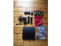 Sony PS3 PLUS Games and Controllers - Barely Used!