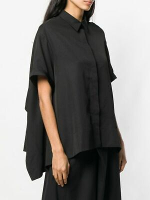 NWT Henrik Vibskov Wind In Black Shirt Large