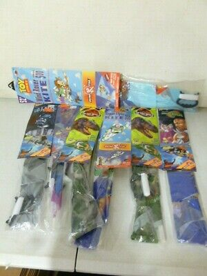 7 Kites Star Wars, Toy Story, Jurassic Park, Space