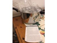 Kitchen Craft Stainless Steel Large Chip Fryer and Basket - £10