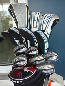 Superbe ensemble de golf Cobra King F6 et Fly Z XL taylormade