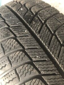 """17"""" winter Michelin XICE3 tires and steel rims (set of 4)"""