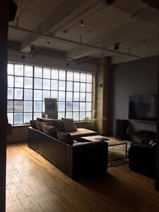 Downtown loft office space for rent - private office or desk