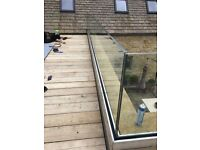 Skilled person required to fit glass balustrades and template for stairs in residential properties