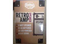 Brand New Retro Amp Speaker 5W MP3 Smartphone iPod