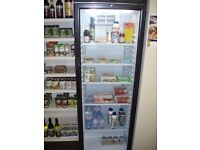 Glass Fronted Commercial Fridge