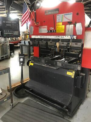 38 Ton Amada Rg-35 Cnc Press Brake