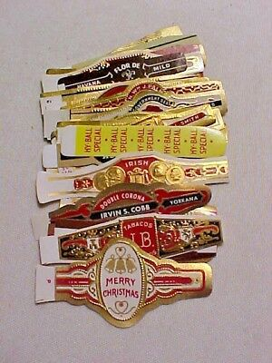 Lot of (30) Vintage Cigar Bands - All Different #16