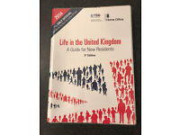 Life in the UK test book, latest 3rd edition (2014) + Study guide and practice questions (2009)