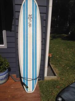 "7'2"" Mini Mal Natural Rhythm Surfboard Batemans Bay Eurobodalla Area Preview"