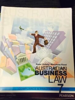 TEXTBOOK - AUSTRALIAN BUSINESS LAW Bulimba Brisbane South East Preview