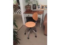 Ikea wooden office chair. Adjustable height. Good condition.
