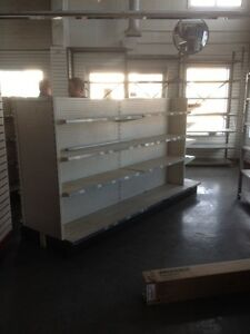 STORE FIXTURES NEW AND USED