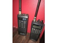 Radio scanners x2 both Realistic