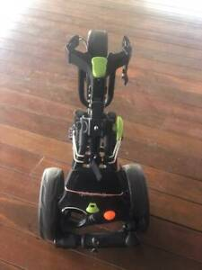 TRIUMPH GOLF BUGGY ONE BUTTON OPEN FOLD GREAT CONDITION