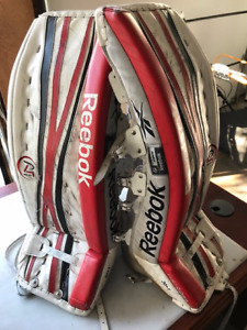 """30""""+1 Goalie pads only $ 95.00 OBO"""