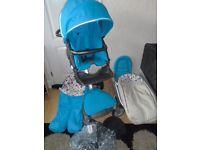 Stokke Xplory V2 carrycot+seat unit