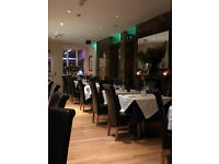 EXPERIENCED WAITER/WAITRESS REQUIRED FOR ITALIAN RESTAURANT