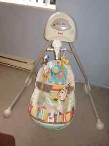 Excellent condition baby swing