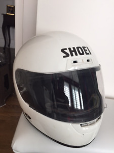 Casque Shoei Blanc XXL