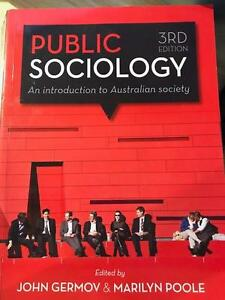 Public Sociology - An introduction to Australian society Nashua Byron Area Preview