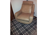 LEATHER CHAIRS ANTIQUE TAN