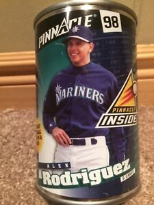 Alex Rodriguez 1998 Pinnacle 10 Cards in can  -Seattle Mariners