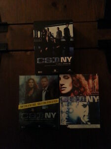 Coffret DVD series Tv, C.S.I NY (les experts), NYPD blue