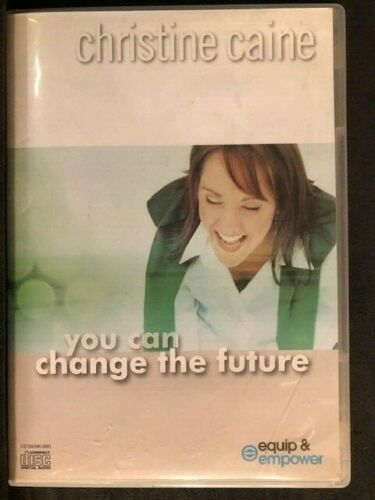 You Can Change the Future by Christine Caine (3 CD) Teaching Series, VERY GOOD