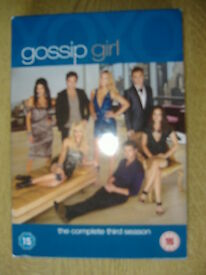 Gossip Girl DVD 5 Disc Box Set Complete 3rd Season