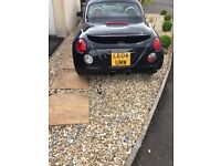 Daihatsu Copen 0.66 Turbo limited Edition Black with red leather. 66400 miles.