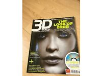 3D World The look of 2008 Jan 2008 + Free CD