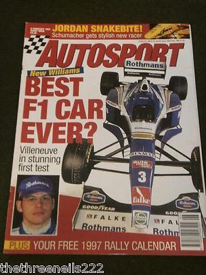 AUTOSPORT - NEW WILLIAMS CAR BEST F1 CAR EVER - FEB 6 (Best F1 Car Ever)