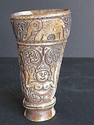 Box Medicine Carved, Sri Lanka