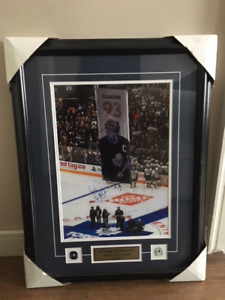 Doug Gilmour - Signed Toronto Maple Leafs Picture