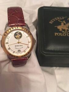 Beverly Hills Polo Club WATCH Ralph Lauren (reg $150)