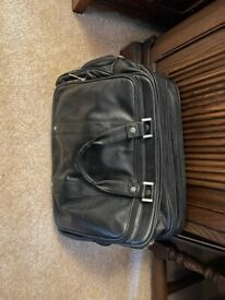 Free Black Leather Computer/File Case