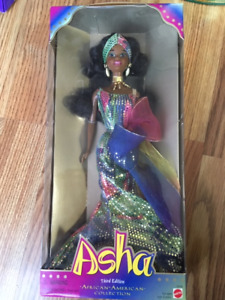 Asha 3rd Edition Barbie (1995)