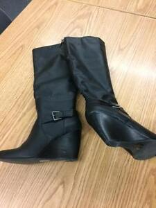 Wedge boots from Globo - worn twice