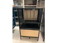 BEKANT storage unit on legs, mesh black, 61x101cm - IKEA Lakeside #bargaincorner