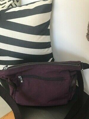 KIPLING 'GABBY S' DARK PLUM HANDBAG SHOULDER BAG BNWT  orig. 89