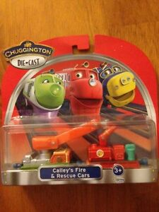Chuggington Die-Cast Train Calley's Fire & Rescue Cars