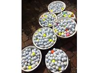 Golf balls - sorted by brand - collect and pick your own
