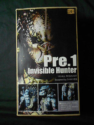 SuperEdge / S-Hayes Invisible Hunter Pre1 Predator Resin Model Kit - Original