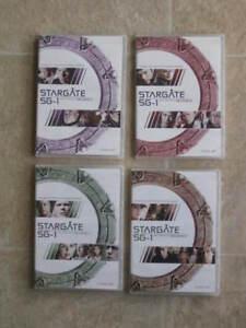 8 coffrets films DVD (Série TV) - Stargate - SG-1