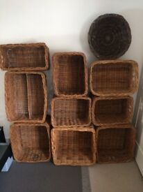 Wicker Storage Baskets - Selection from Habitat and similar