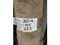 Essential classic carpet remnant - 2.65x4 - £105 - Ref 223