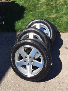 Chevy Aluminum Wheels and tires
