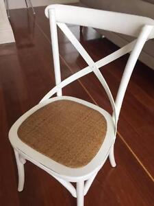 Cross Back Dinining Chairs Ascot Brisbane North East Preview